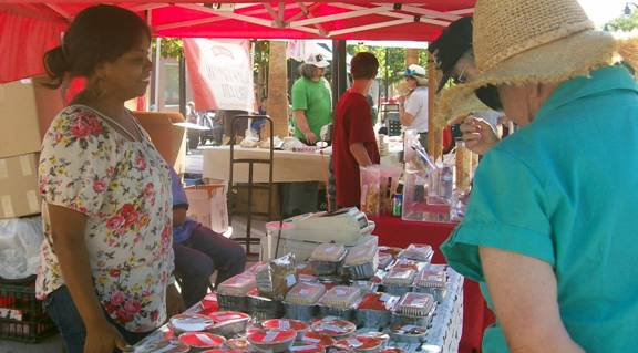Dozens of vendors came out for Lancaster's Farmers Market Thursday