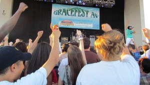 Group 1 Crew was a hit with teens.