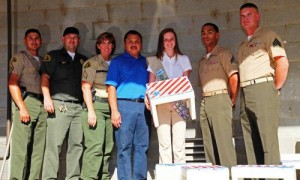 LASD, Marines, Girlscouts