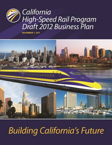 CA High Speed Rail New Business Plan