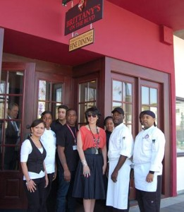 Brittany's on The BLVD opened to rave reviews in April of 2012, but the restaurant had since shut its doors.