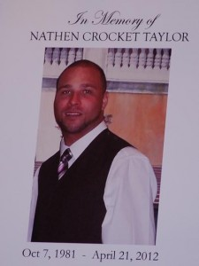 Nathen Taylor funeral 2