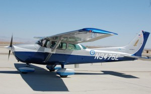 The aircraft made a test run for city officials at the William J. Fox Airfield in Lancaster Thursday (Aug. 23).