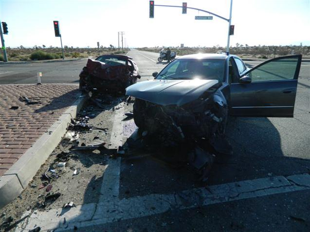 Car Accident: Antelope...