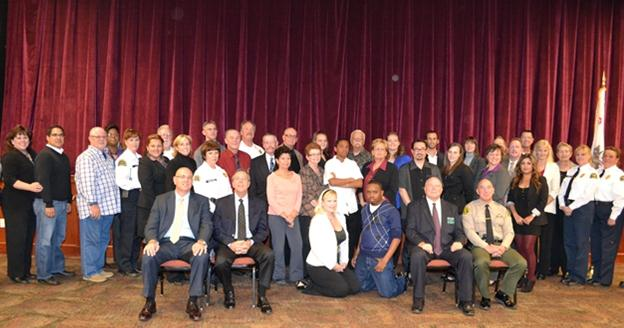 39 participants graduated from the 27th Community Academy in November of 2012.