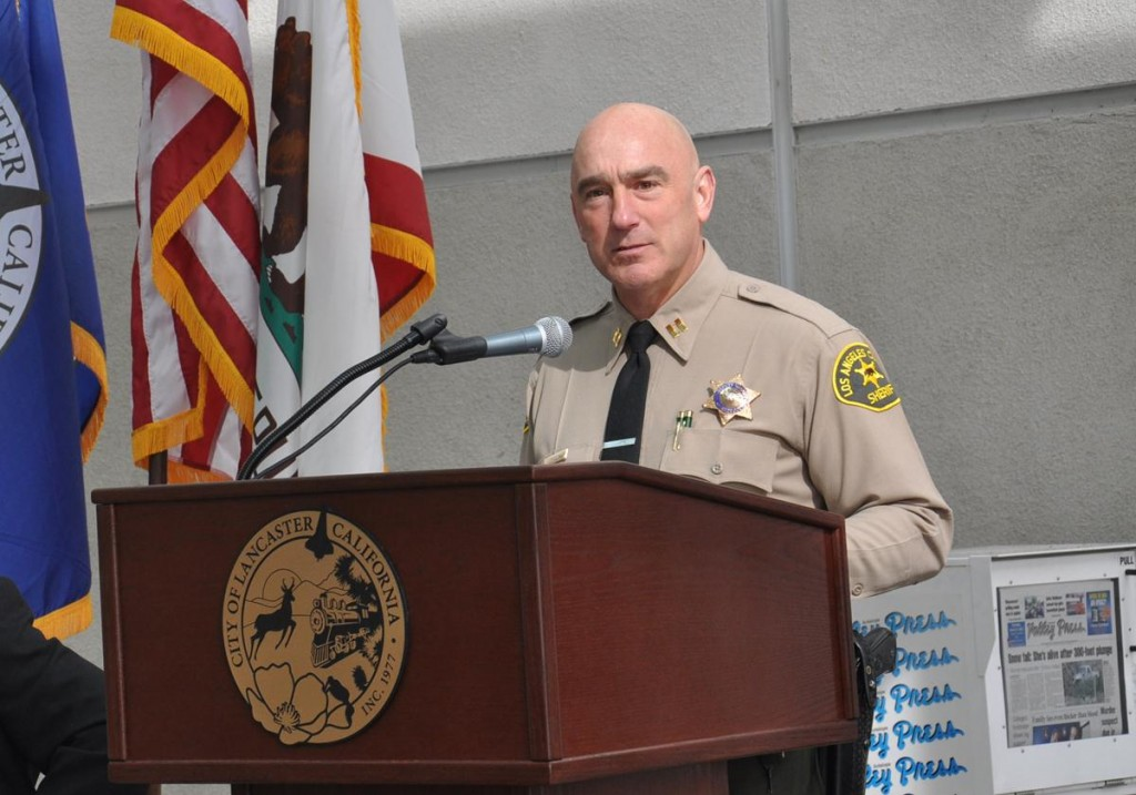 Captain Bob Jonsen is a 26-year veteran of the Los Angeles County Sherriff's Department.