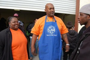 Husband and wife team, Toni and Weilyn Wingfield, coordinated the service project.