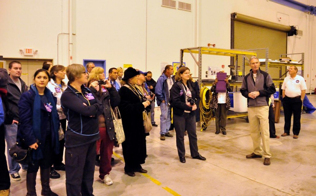 Educators from the Antelope Valley, Bakersfield and Los Angeles toured NASA facilities Friday as part of NASA Airborne Science Mission media day at Dryden.