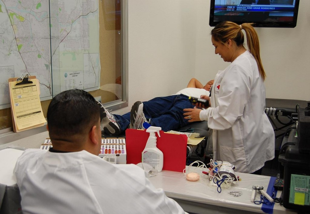 American Medical Response Antelope is hosting an American Red Cross Blood Drive from 7 a.m. to 7 p.m. Wednesday (Feb. 27) ay 1055 West Avenue J in Lancaster.