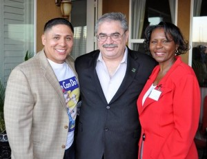 Assemblyman Steve Fox and his field representative, Diana Love, attended the Agents of Change Awards Party.
