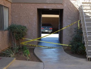 Investigators suspect the killers many have resided at the complex, the apartment manager said Thursday morning.