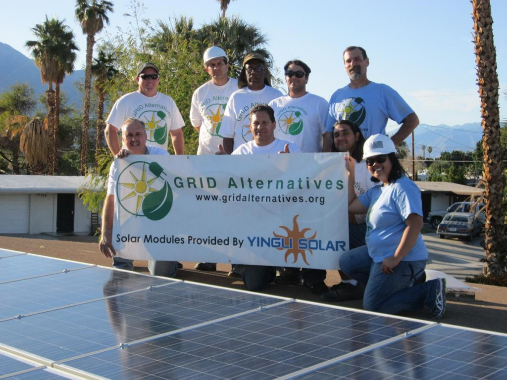 As of February 2013, GRID Alternatives has installed over 3,000 solar electric systems in homes, trained 11,700 community volunteers and job trainees on the theory and practice of installing solar systems, and has prevented over 250,000 tons of greenhouse gas emissions through PV installations. (Photos courtesy GRID Alternatives)