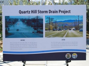 QH Drain dedication1