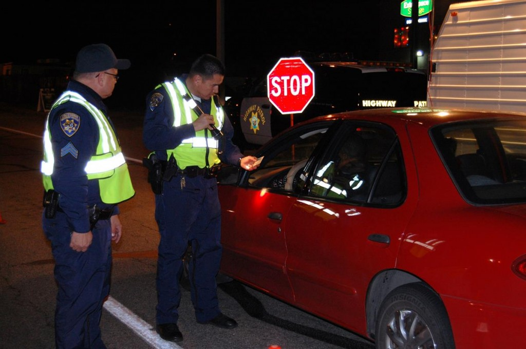 All drivers who are under the influence of alcohol and/or drugs can expect to be arrested and can count on spending the night in jail, CHP officials said. (File image)