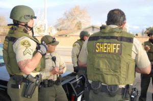 Gang warrants searched