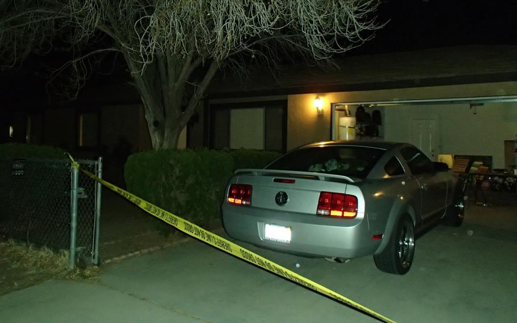 The fatal shooting happened at the victim's Lake Los Angeles home in the 38600 block of 159th Street East.