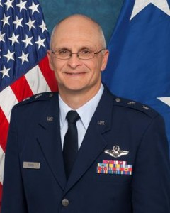 Maj. Gen. Arnold W. Bunch Jr., Air Force Test Center commander. (U.S. Air Force photo)