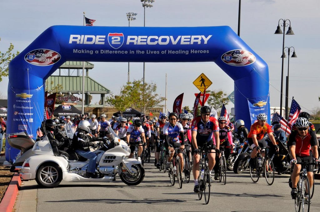 Shortly after 9 a.m. Saturday morning, about 150 cyclists and injured veterans took part in the inaugural Honor Ride Palmdale.