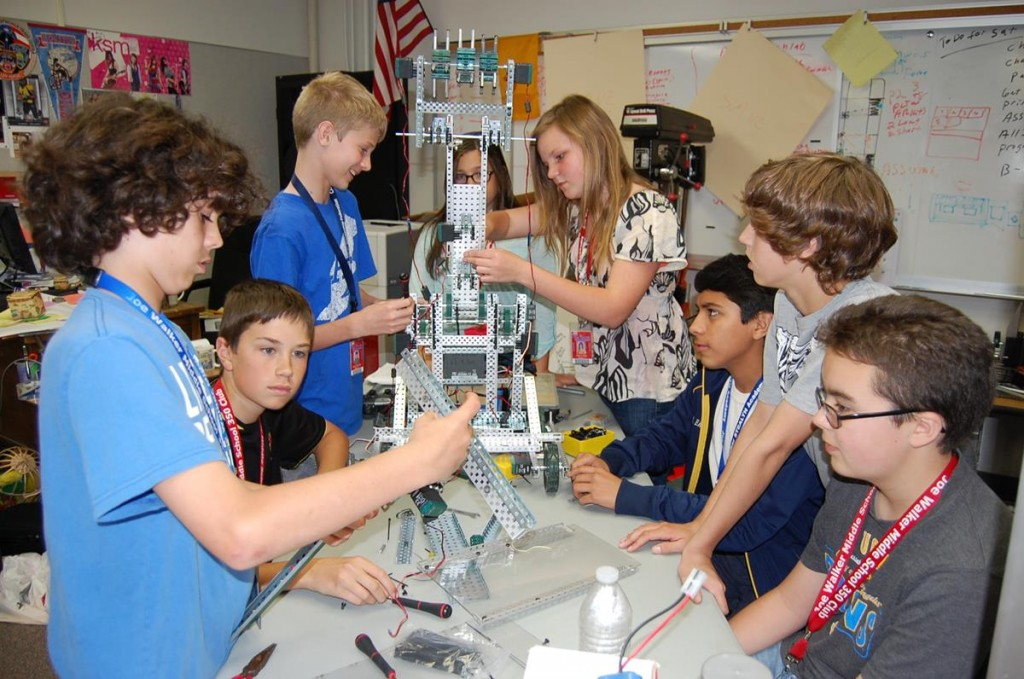 In less than two weeks, Joe Walker Middle School STEALTH Academy's VEX Robotics Team will compete against 160 of the top robotics teams from around the world.
