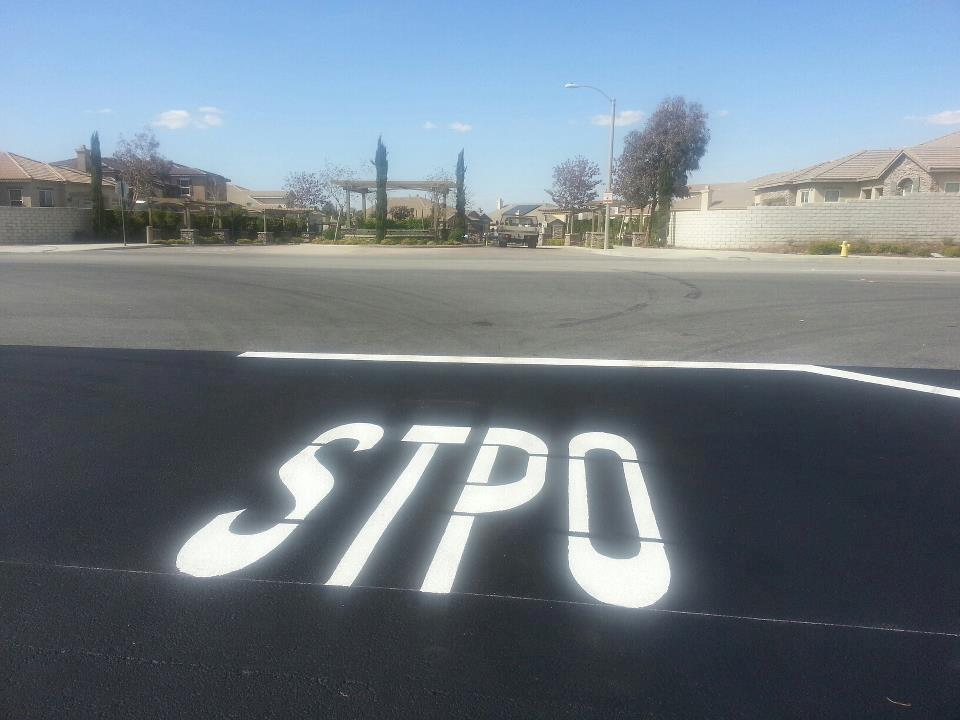 Stop sign error Quartz Hill